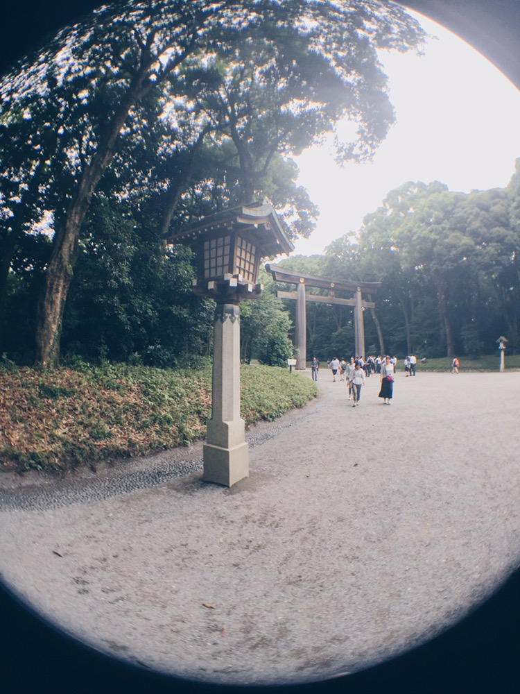 Meiji Jingu/Meiji Shrine - With Olloclip - helloteri