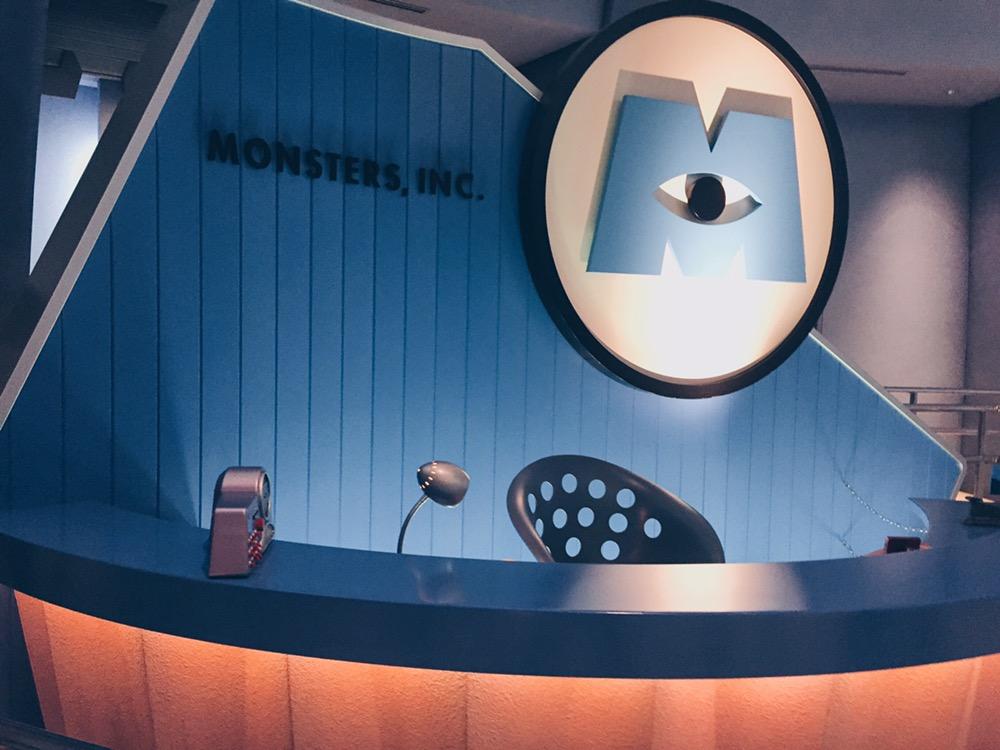 Japan, Tokyo Disneyland - Monster Inc Ride - helloteri