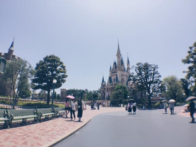 Japan, Tokyo Disneyland - Disney Castle - helloteri