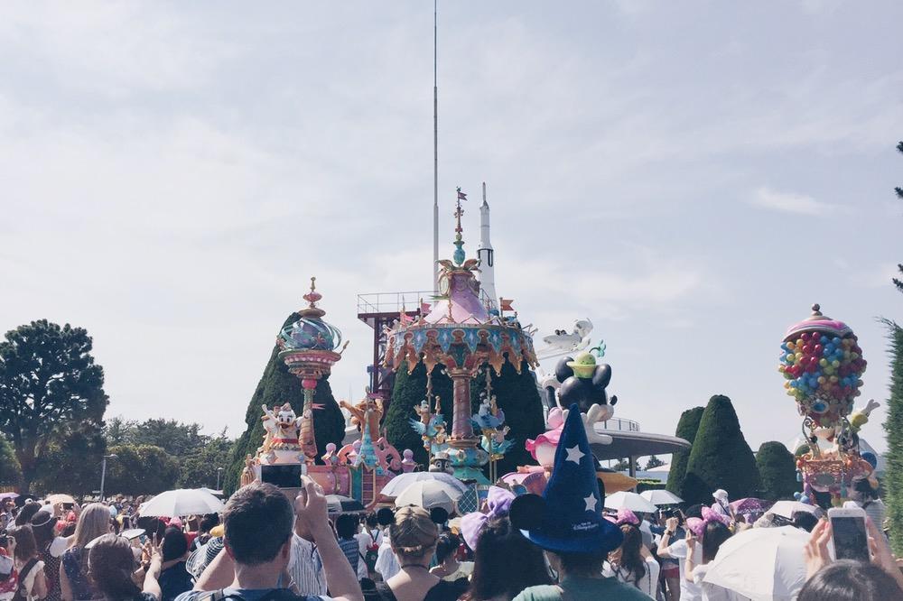 Japan, Tokyo Disneyland - Disney Parade - helloteri