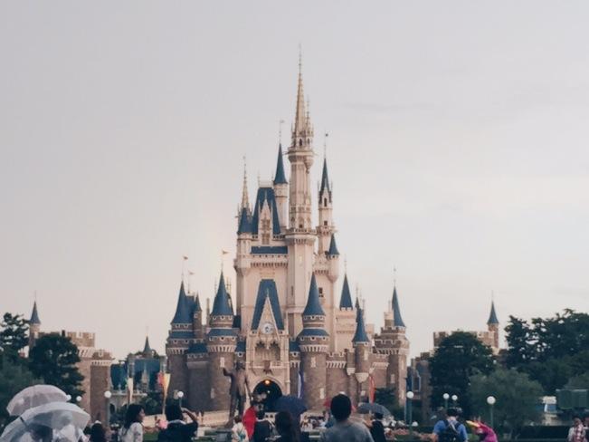 Japan, Tokyo Disneyland - Disneyland Castle - helloteri