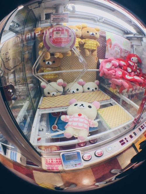 Tokyo and Osaka, Japan - All you need to know about Japanese Claw Machines - Rilakkuma & Korilakkuma - helloteri