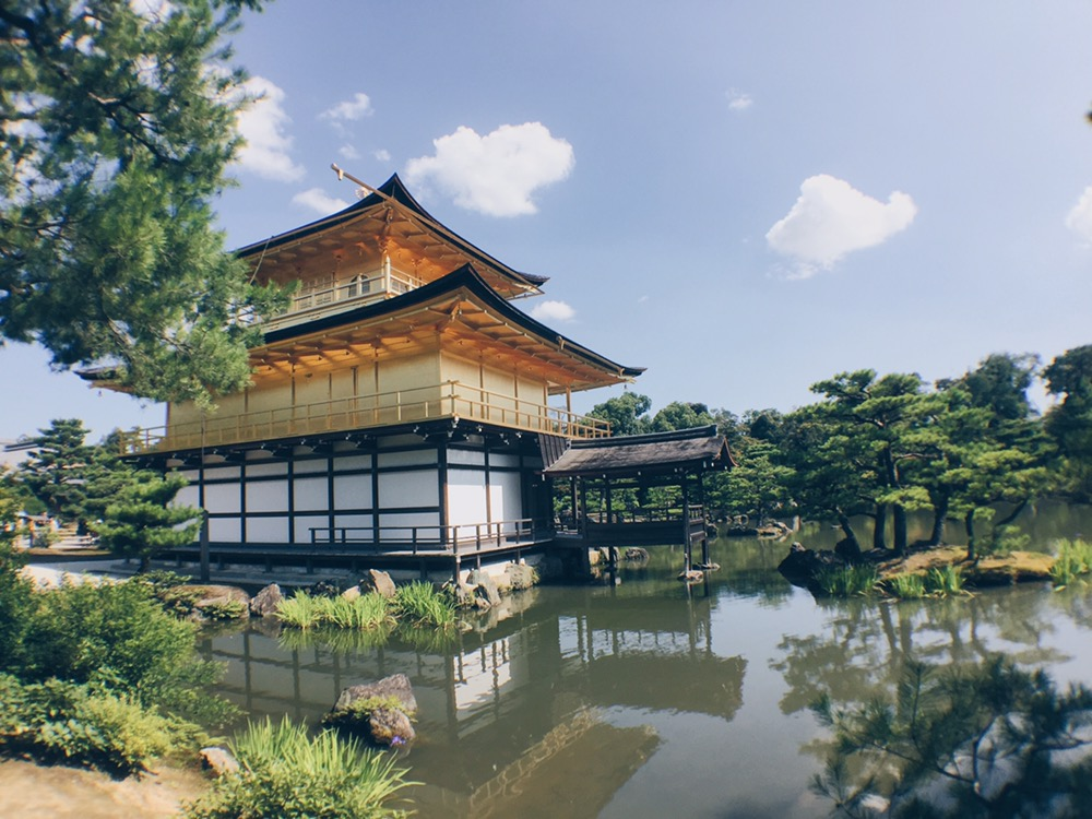 Kyoto, Japan - Kinkaku-ji or Golden Pavilion - helloteri