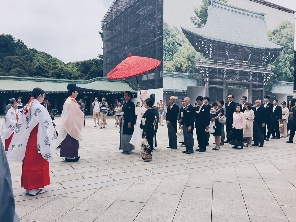 Meiji Jingu/Meiji Shrine - Japanese Wedding - helloteri