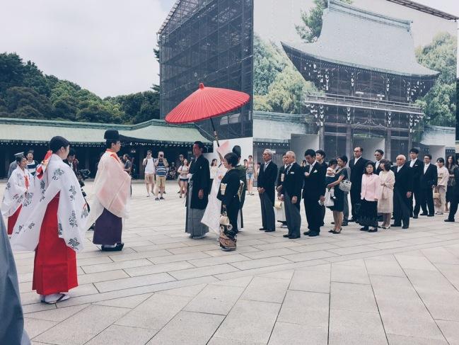 Meiji Jingu/Meiji Shrine - Japanese Wedding - helloteri