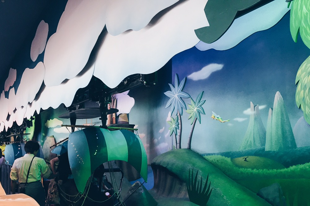Japan, Tokyo Disneyland - Peter Pan's Flight - helloteri