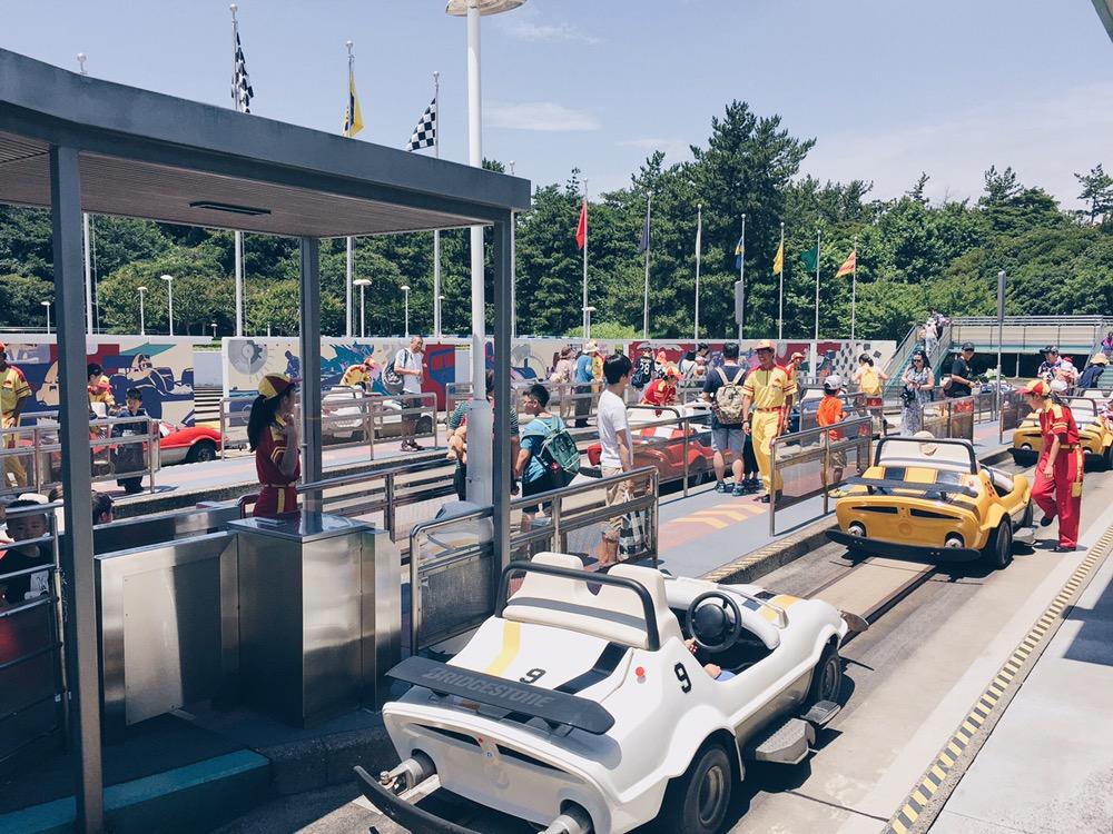 Japan, Tokyo Disneyland - Grand Circuit Ride - helloteri