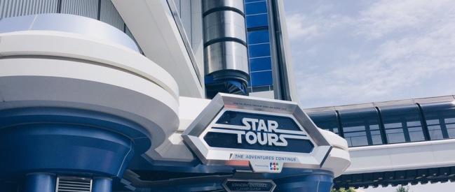 Japan, Tokyo Disneyland - Star Tours - helloteri